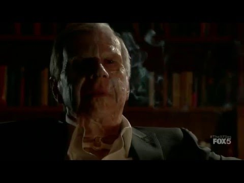 "The X-Files - Cigarette Smoking Man ""They've Reopened the X-Files"""