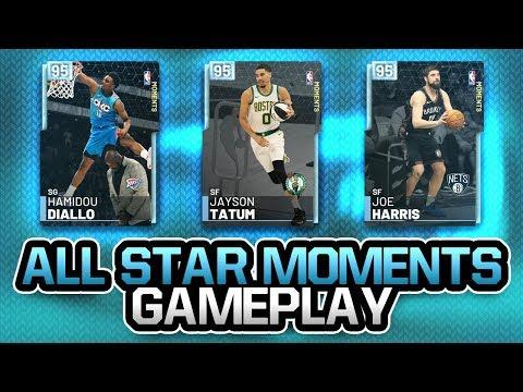 New Diamond All Star Moments Gameplay! 3 BEST DIAMONDS IN NBA 2K19 MYTEAM!
