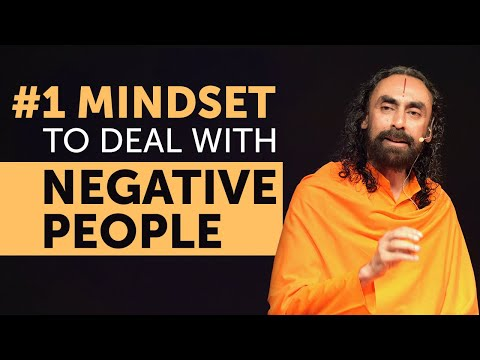 The Right Mindset to Deal with Negative People in Life - MUST WATCH | Swami Mukundananda