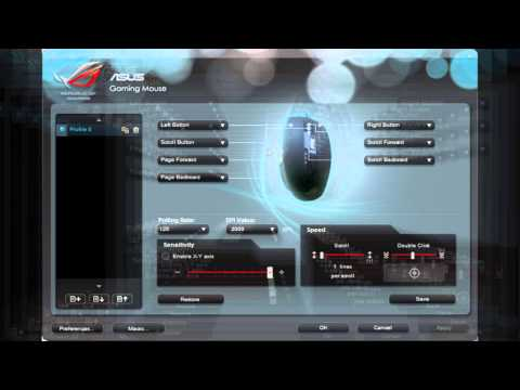 Asus ROG GX850 Gaming Mouse Full Review