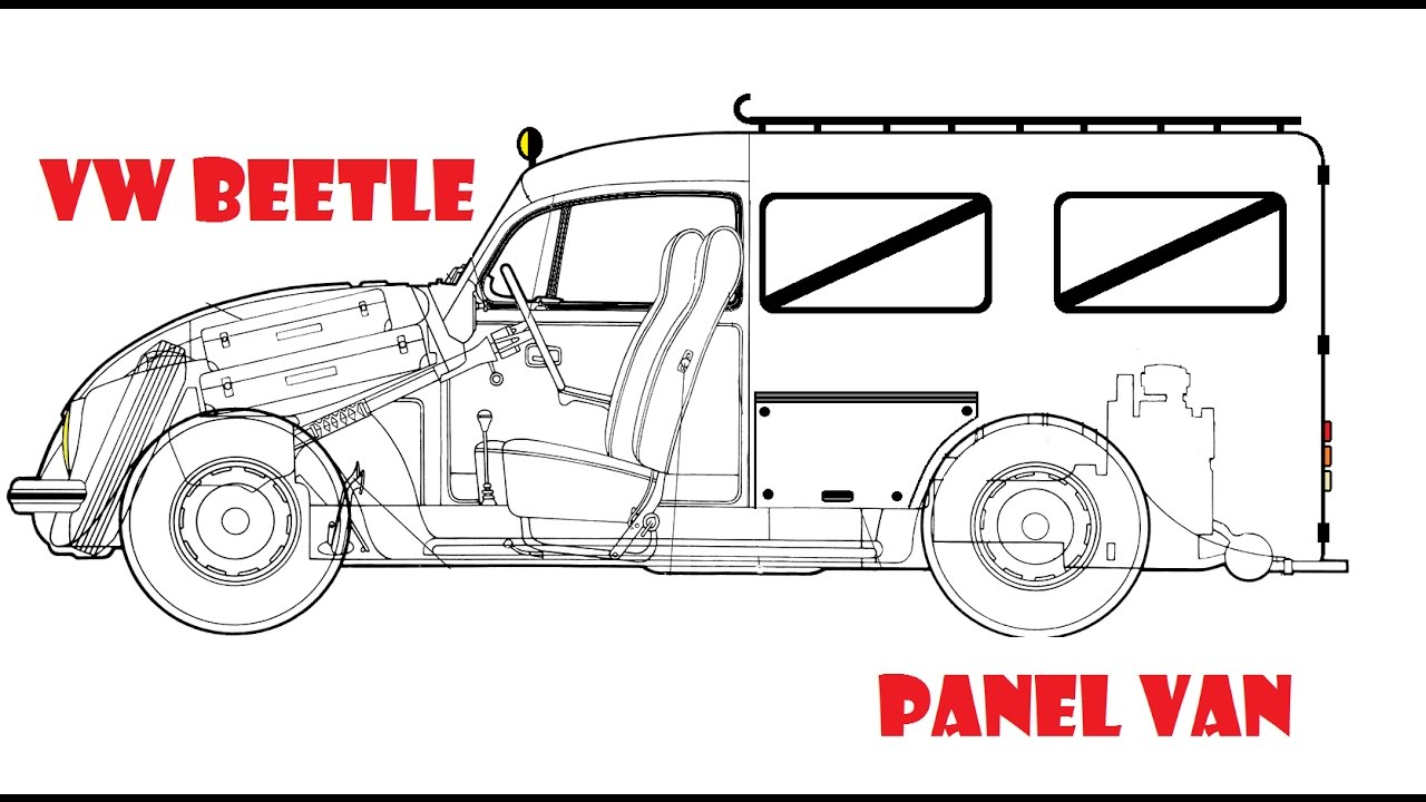 Designing A VW Beetle Panel Van
