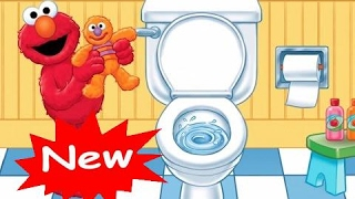 Potty Time Storybook Song & Puzzles Baby Games | Potty Time with Elmo - Kids Games