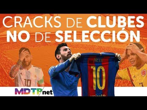 Cracks de Clubes, NO de Selección