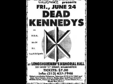 Dead Kennedys - Live @ Longshoremens Hall, Wilmington, Los Angeles, CA, 6/24/83 [POLICE RIOT ENDING]