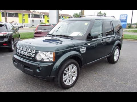 2012 Land Rover LR4 HSE Walkaround, Start up, Tour and Overview