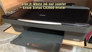Reset Epson Stylus CX3900 Wast…