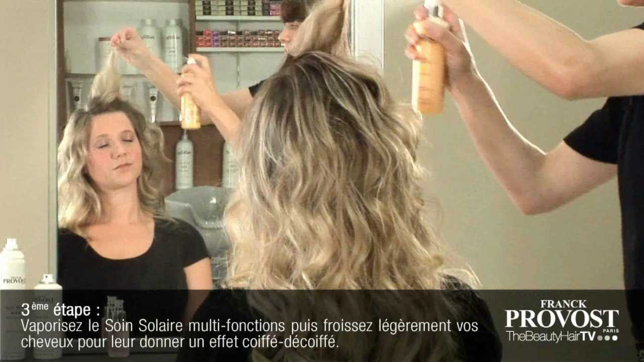 Look Wavy Retour De Plage Youtube