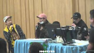 160212 컬투쇼 이승훈 강승윤 부산 사투리 ㅋㅋㅋ