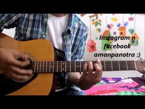 Dil Meri Na Sune - Atif Aslam - Guitar chords cover lesson easy - Himesh Reshammiya