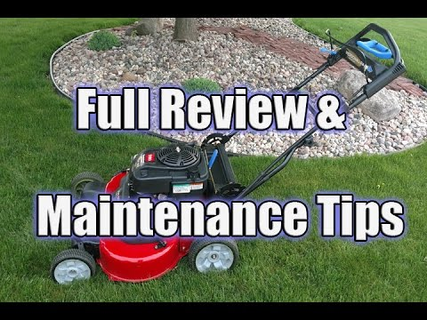 """Toro 30"""" TimeMaster 223cc Personal Pace Lawn Mower Review - 21199"""