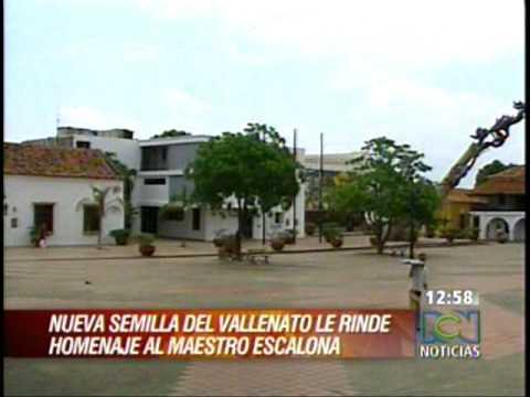 RCN-Valledupar - Homenaje a Escalona - Sergio - Maria Pao