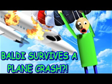 Can Baldi Survive A Plane Crash In Roblox The Weird Side Can Baldi Survive A Plane Crash In Roblox The Weird Side Of Roblox Survive A Plane Crash Obby Youtube