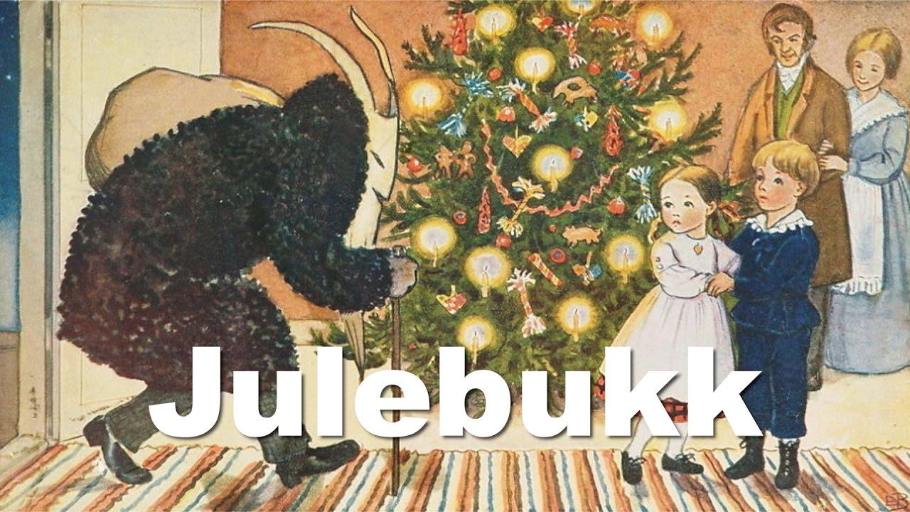 The Julebukk or Yule Goat tradition - December 16 (Advent Calendar ...