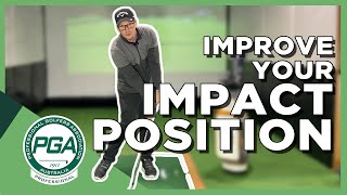 Simple Drill for Correct Impact Position