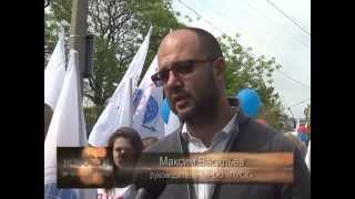 МРОО ПУСК принял участие в праздничной демонстрации ПАРАД ЭПОХ в г.Евпатория 1 мая 2014.(, 2014-05-04T18:03:35.000Z)
