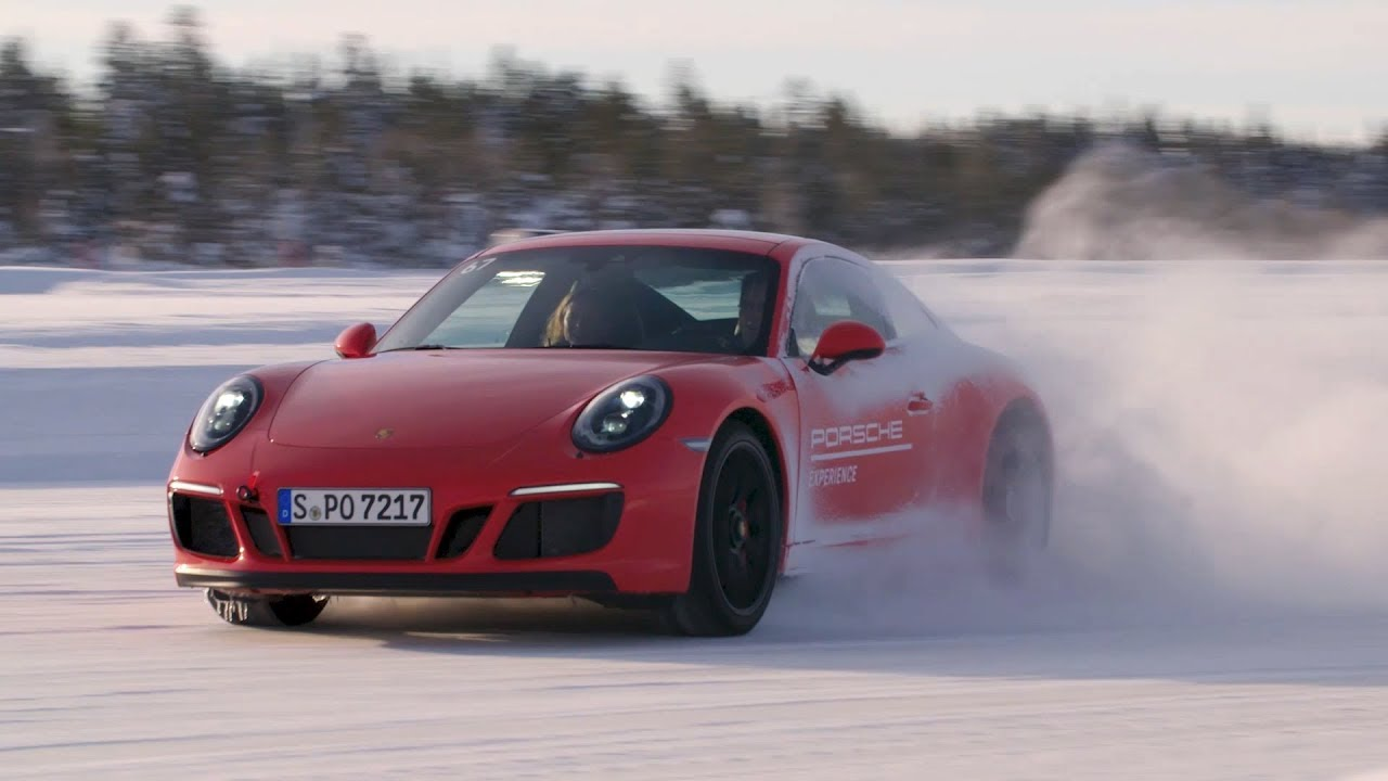 porsche ice experience 30 years of all wheel drive in the. Black Bedroom Furniture Sets. Home Design Ideas