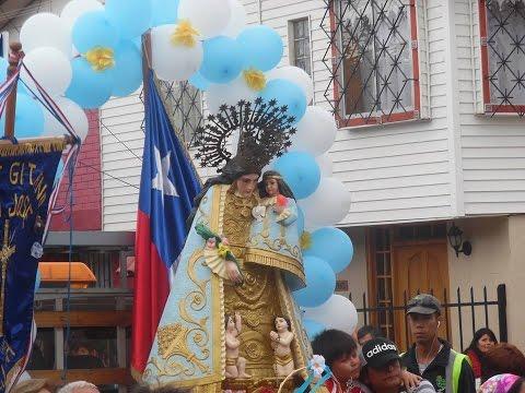 Virgen de los Desamparados La Calera / Chile / Enero 2016