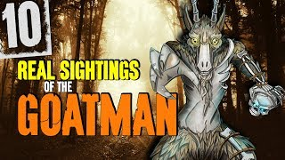 10 REAL Sightings of the Goatman! - Darkness Prevails