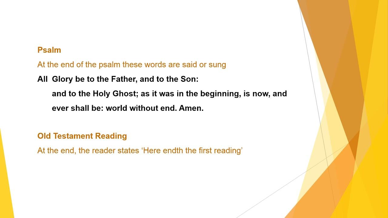 BCP Evening Prayer 04.04.21