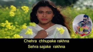 Mehndi Lagake Rakhna karaoke with lyrics