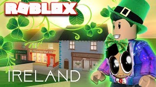 VISITING IRELAND IN ROBLOX WHILE PLAYING ROBLOX IN IRELAND (World Expedition Game)