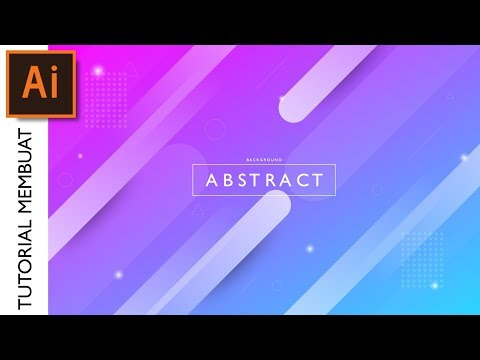 Tutorial Membuat Modern Abstract Background Mengunakan Adobe Illustrator CC thumbnail