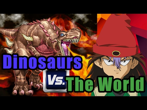Dinosaurs vs The World - Yu-Gi-Oh! Duel Links Ranked Duels (7000 Subscribers!)