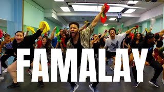 Skinny Fabulous, Machel Montano & Bunji Garlin - Famalay | SOCA DANCE CLASS @BIZZYBOOM