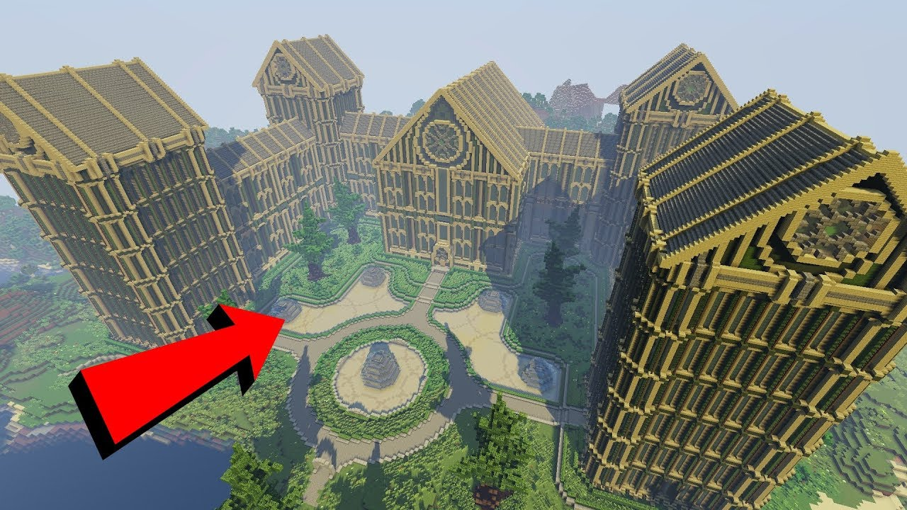 How to Build an EXTREME Palace in MINECRAFT  Tutorial