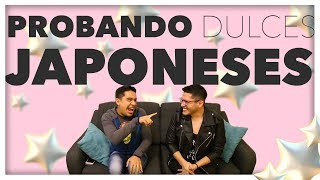 PROBANDO DULCES JAPONESES 2 | Pepe & Teo