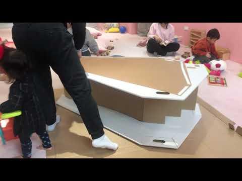 CHARPAPA 第二代溜溜畫滑梯組裝影片(側板+塗鴉板組裝) HD