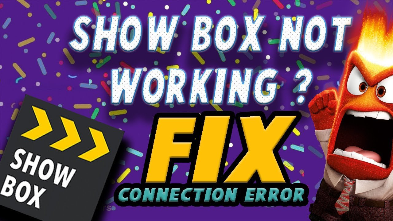 Image result for how to fix showbox connection error on firestick