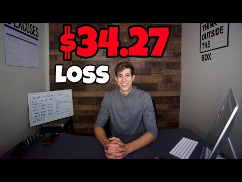 $34.27 Loss On My TD Ameritrade Account   Challenge Update