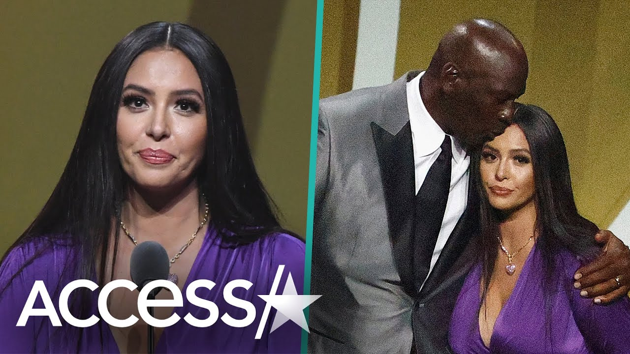 Vanessa Bryant Tears Up Praising Kobe Bryant In Hall Of Fame Speech