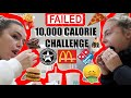 THE 10,000 CALORIE CHALLENGE | Syd & Ell