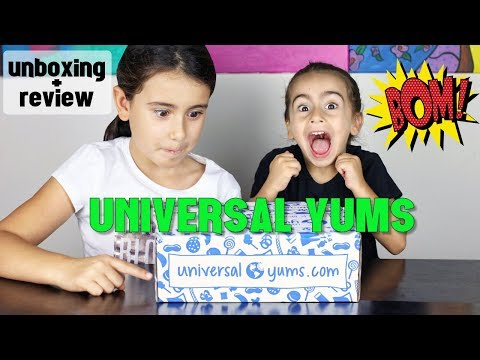 Universal Yums International Snack Subscription Review - September 2017