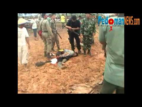 Video Tragedi Warga Mesuji-Lampung