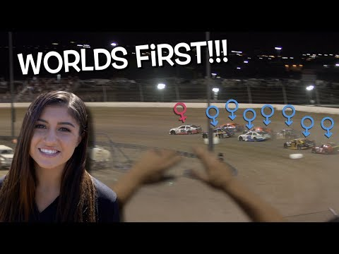 HAILIE DEEGAN makes HISTORY!!! First ever FEMALE driver to win pole position in NASCAR K&N SERIES!