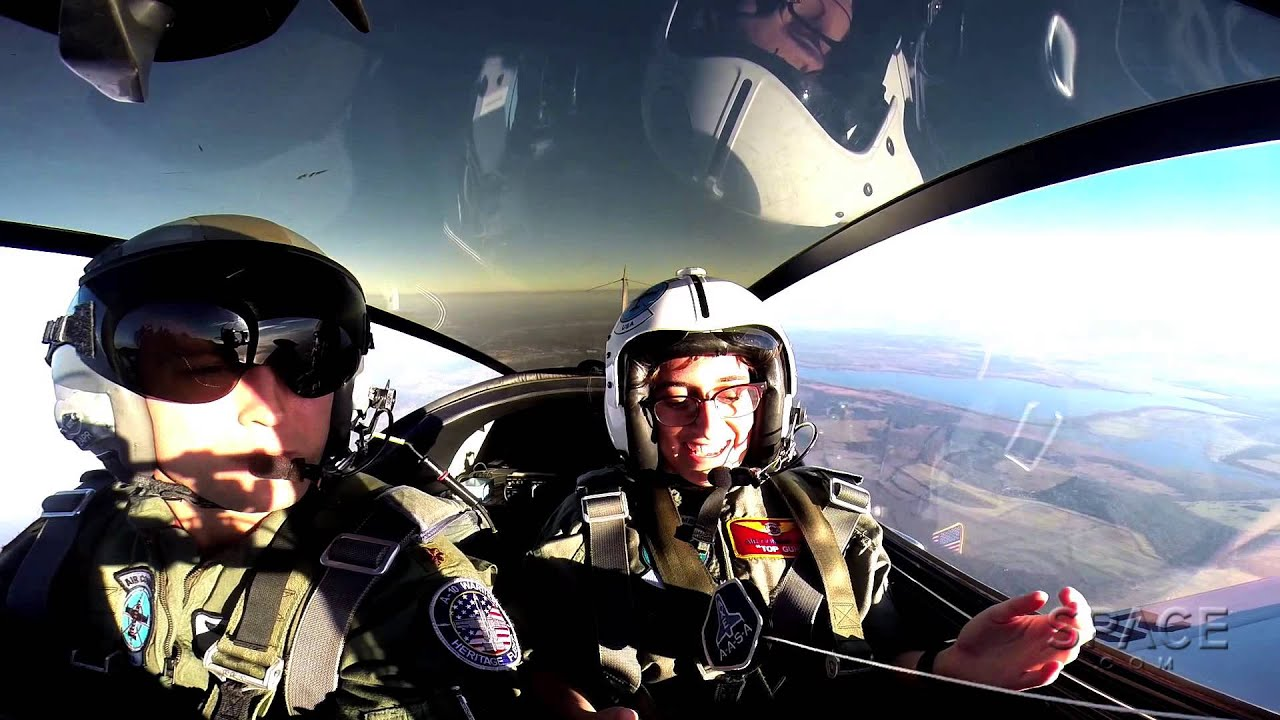 Zero to 4G's: Fighter Plane Thrill Ride - Amazing Cockpit ...
