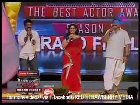 Mammootty the best actor award 2012  grand  finale/ Mammootty&  kavyamadhavan speak malappuram slang Travel Video