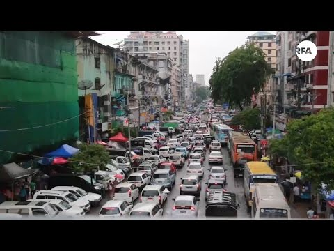 Yangon Taxi Drivers on New Policy