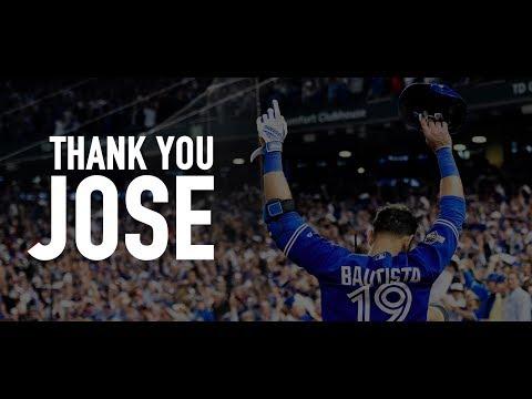 THANK YOU JOSE || Jose Bautista Ultimate Blue Jays Career Highlights