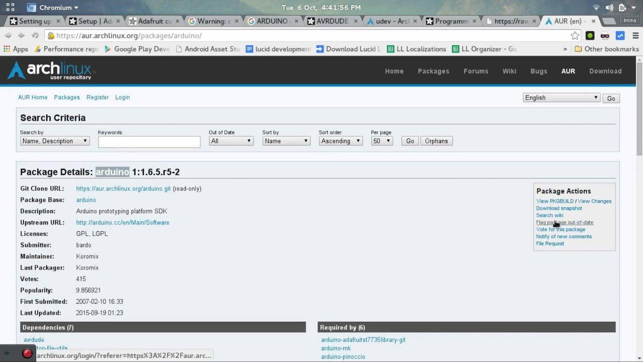 Set up the arduino gemma on arch linux tutorial youtube set up the arduino gemma on arch linux tutorial baditri Choice Image