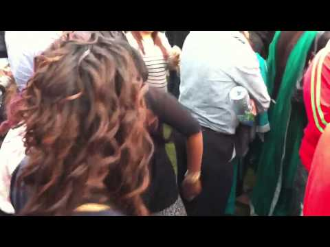 East London barking mela 2012 Imran Khan with sexy girls