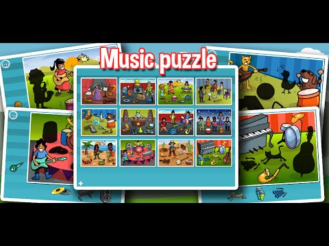 Music Puzzle - Fun for Kids