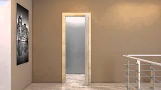 Система открывания Книжка - межкомнатные двери Профил Доорс Алматы Казахстан(Система открывания, в которой дверное полотно поделено на две ассиметричные доли. При открытии двери доли..., 2015-09-28T05:56:01.000Z)