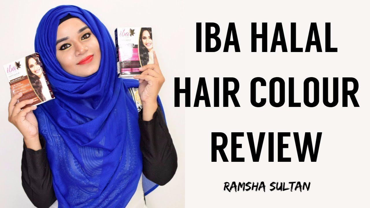 Iba Halal Hair Colour Review Ramsha Sultan Youtube