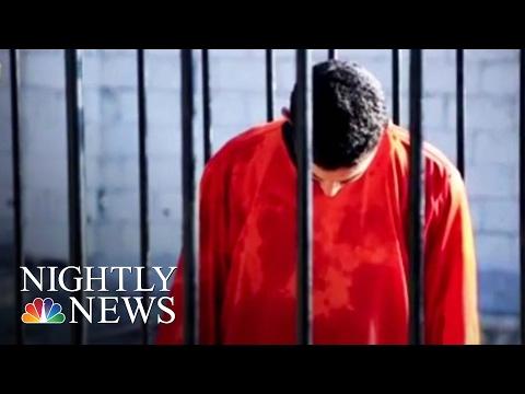 ISIS Burns Jordanian Pilot Alive | NBC Nightly News