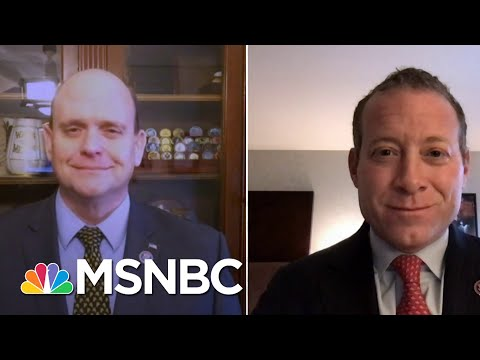 Rep. Josh Gottheimer: 'It's Going To Take Us All Working Together' | Craig Melvin | MSNBC