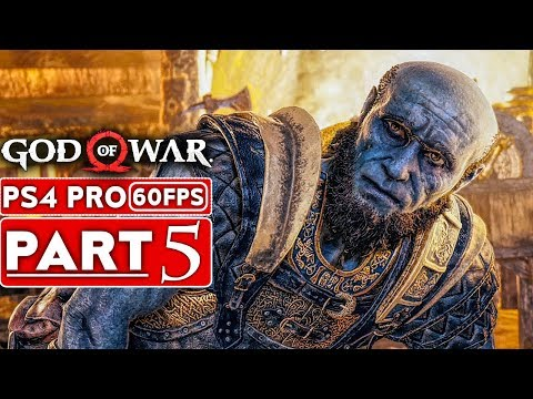 GOD OF WAR 4 Gameplay Walkthrough Part 5 [1080p HD 60FPS PS4 PRO] - No Commentary